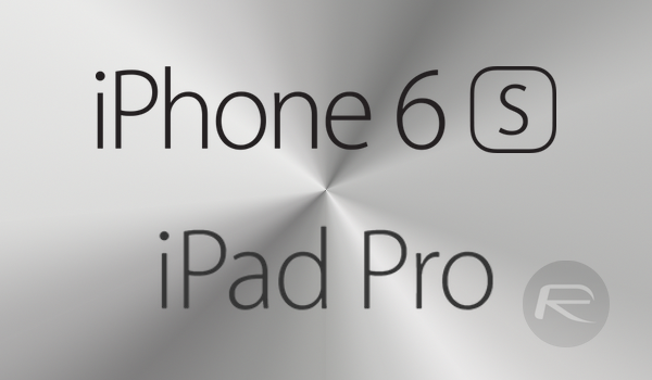 iPhone 6s iPad Pro main