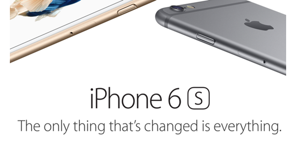iPhone 6s main launch