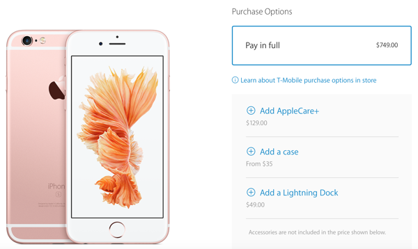 iPhone 6s t-mobile unlocked