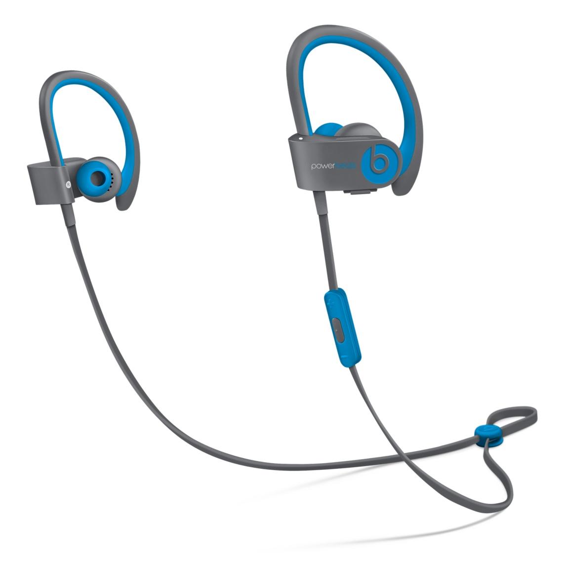 powerbeats2 flash blue