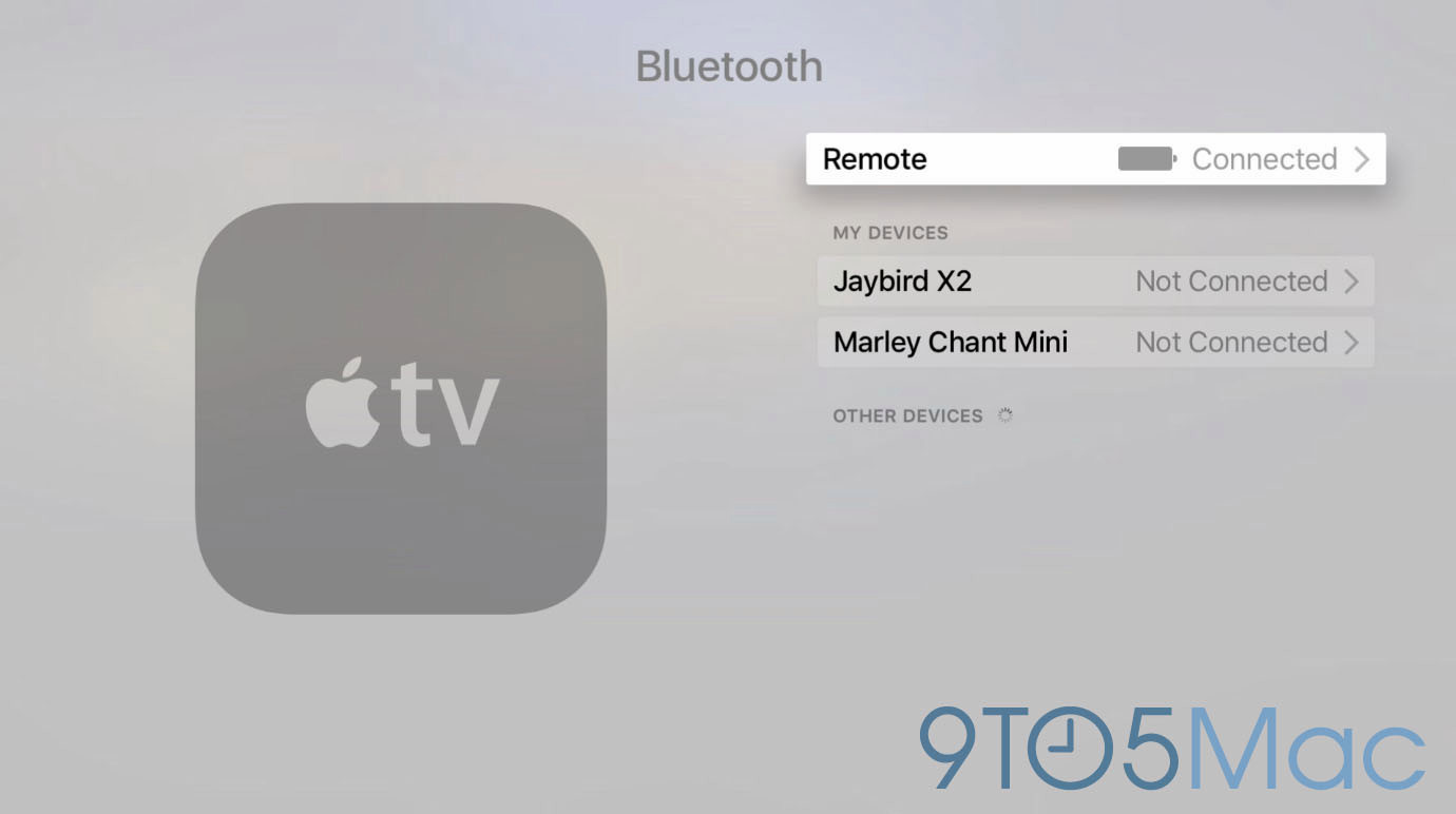tvOS Bluetooth