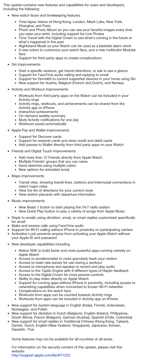 watchOS-2-changelog