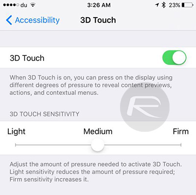 3D-Touch-sensitivity
