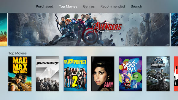 Apple TV 4 screenshot