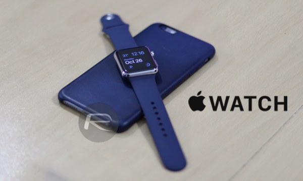 Apple Watch iPhone blue main