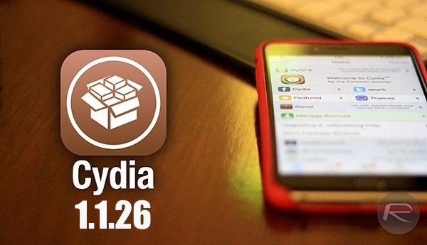 Cydia 1.1.26 main