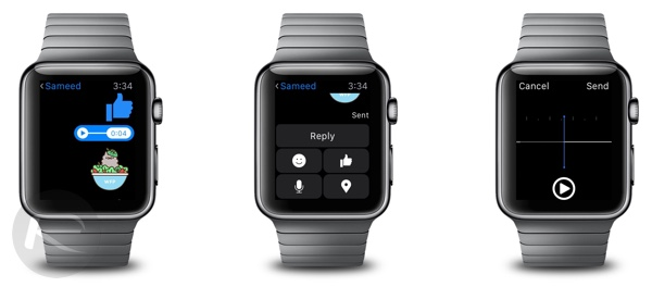 Facebook Messenger for Apple Watch