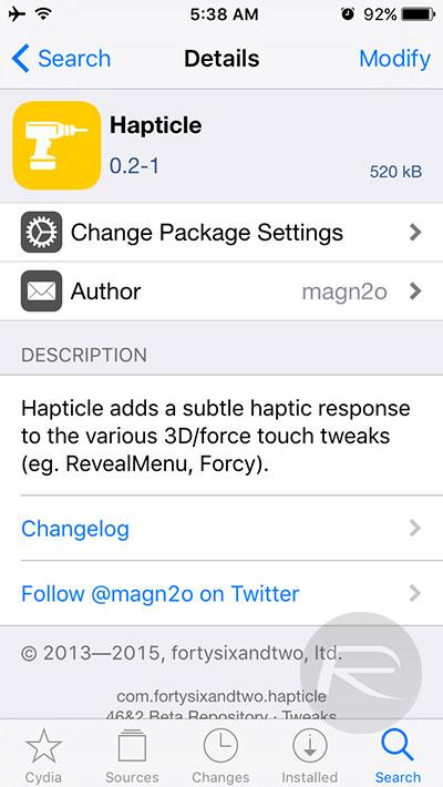 Hapticle