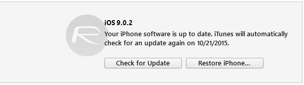 Restore-iOS-9.0.2