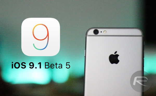 iOS 9.1 Beta 5 main