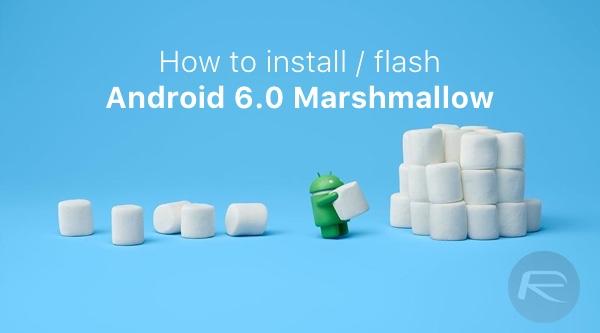 marshmallow install main
