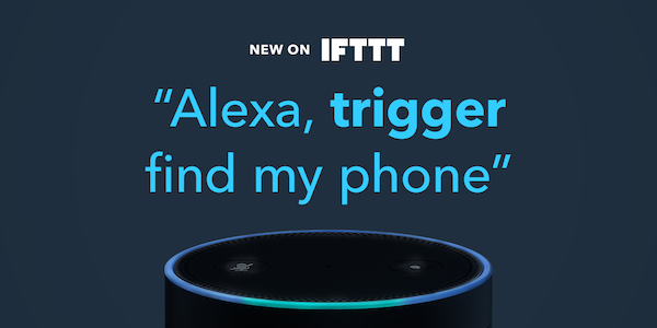 Amazon Echo IFTTT