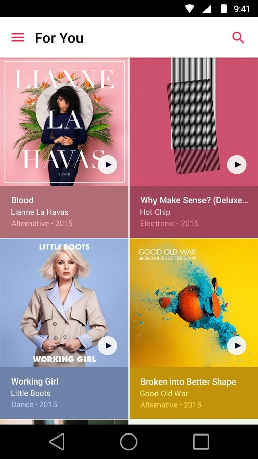Apple Music Android 3