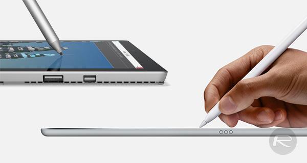 Apple-iPad-Pro-Pencil-vs-Surface-Pro-4-stylus