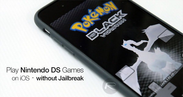 Download NDS4iOS IPA Of Nintendo DS Emulator On iOS 10 [No