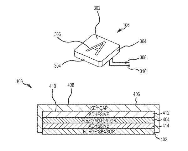Ultra-low-travel-keyboard-Apple-patent
