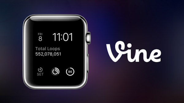 Vine for Apple Watch main