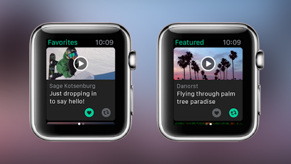 Vine for Apple Watch