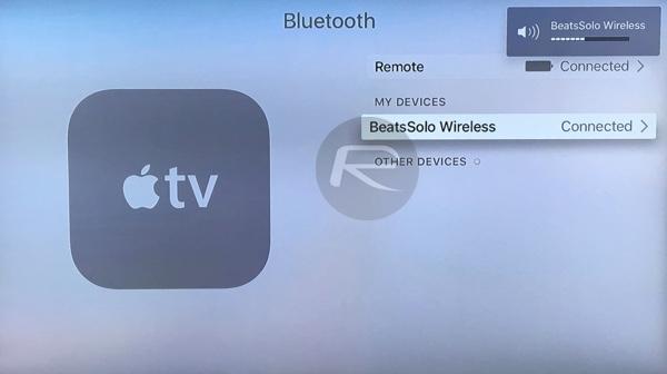 How To Connect Bluetooth Headphones To Apple TV 4 | Redmond Pie