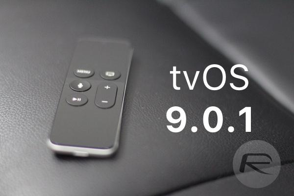 tvOS 9.0.1 main
