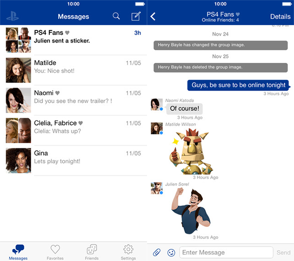 PlayStation-Messages-iPhone