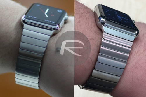 apple watch link bracelet knockoff band