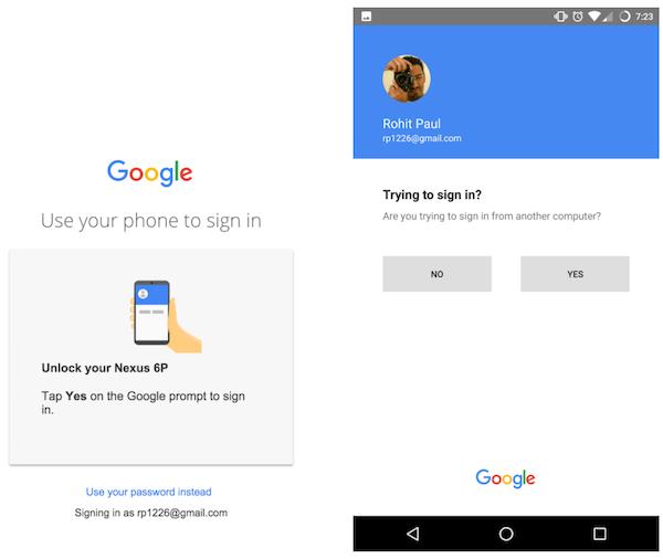 google smartphone unlock
