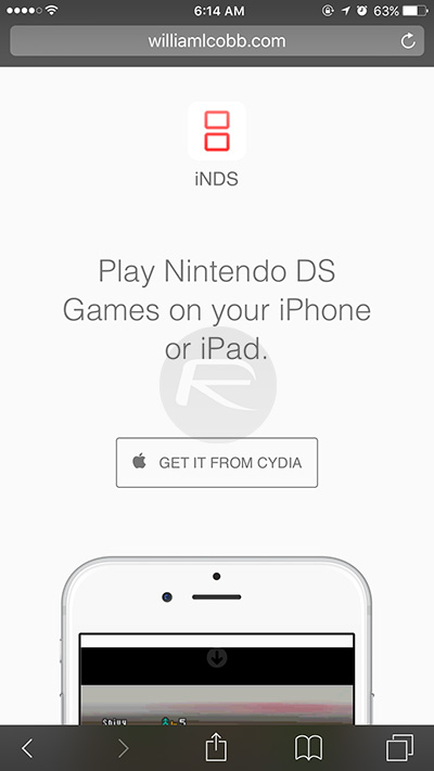 How To Get iNDS Nintendo DS Emulator On iOS 9 | Redmond Pie