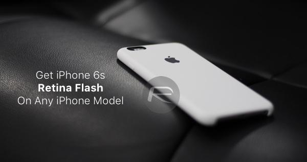 iPhone 6s Retina Flash main