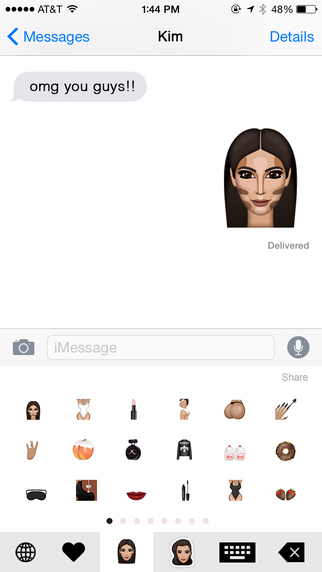 kimoji screen1