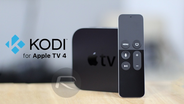 kodi for apple tv 4 main