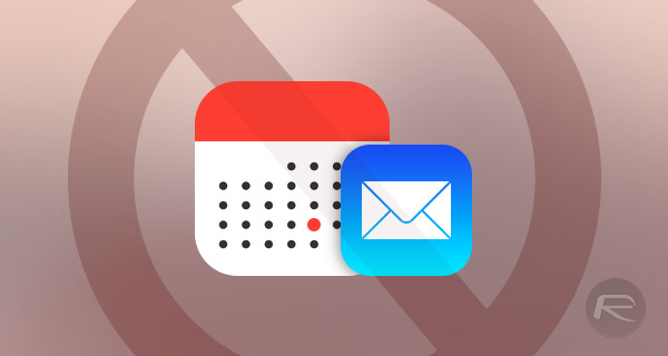 Mail-calendar-events