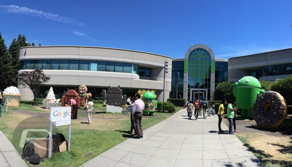 Mountain View Google main