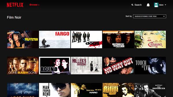 Netflix-sub-genre-browse
