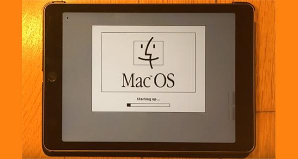 Watch Mac OS 7 5 5 Running On An iPad Air 2 [Video
