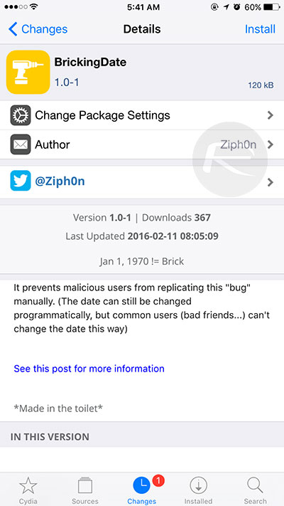 BrickingDate-Cydia-tweak