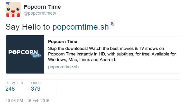 Popcorn-Time-tweet