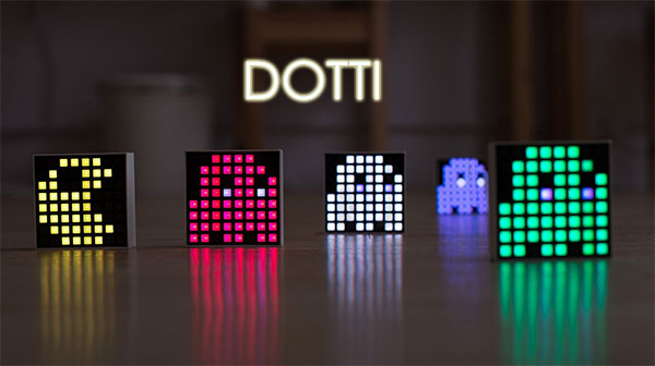 DOTTI Is A Cool Little Smartphone-Connected LED Block That