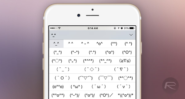 iOS-unicode-emoticon-keyboard