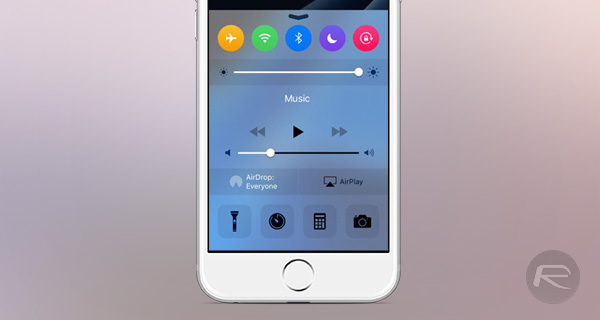 How To Get Apple Watch-Like Colored System Toggles In iOS Control Center | Redmond Pie