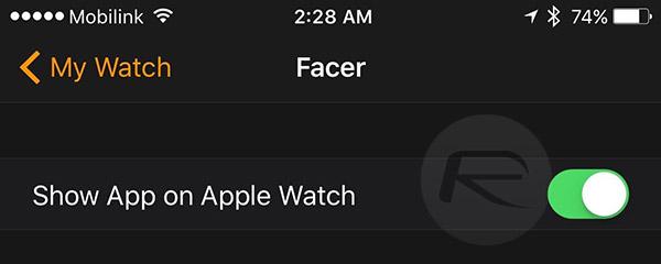 Facer-app-on