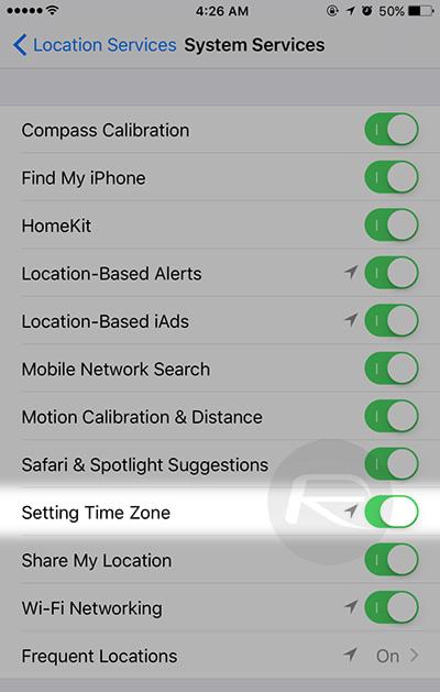 Setting-Time-Zone-iOS-Settings