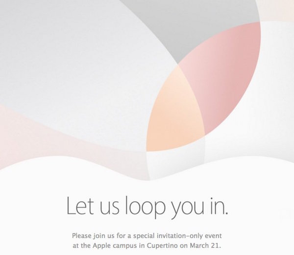 apple spring 2016 invite