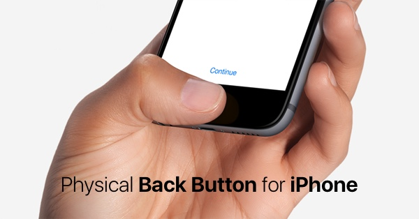 backbutton for iPhone