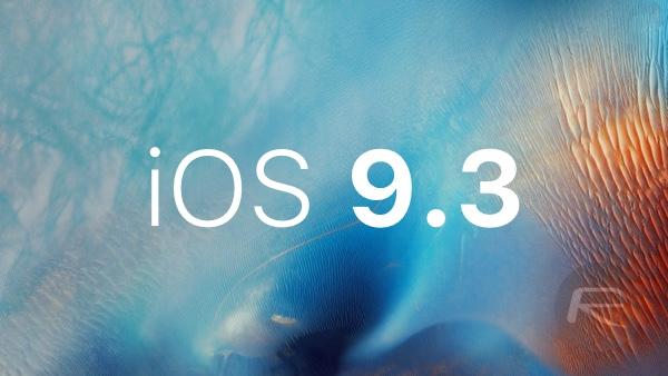iOS 9.3 main