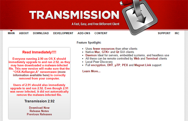 transmission-website