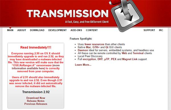 transmission-website