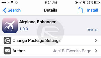 Airplane-Enhancer