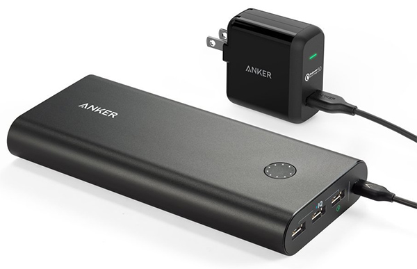 Anker-PowerCore+-quick-charger