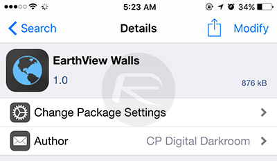 EarthView-Walls